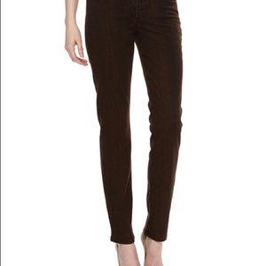 NYDJ• Sherri Snake Print Skinny Jeans